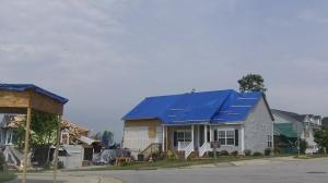 Serendipity Drive - Tornado Damage - Raleigh North Carolina