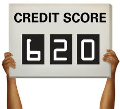 Credit Score 620